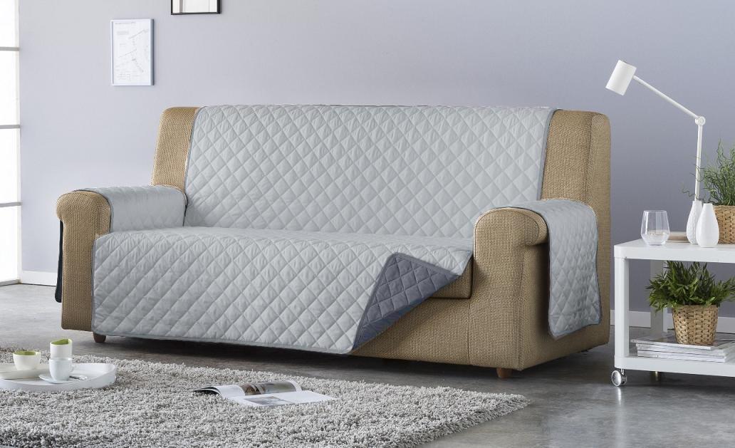 Salva sofá Edén. Gris/Antracita