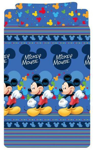 Sábana Mickey Azul. Disney