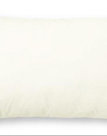 Funda almohada combi 50/50. Crema