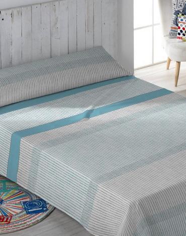Sábana Brand Azul. Stilia
